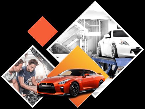 ورشة سيارات في الرياض